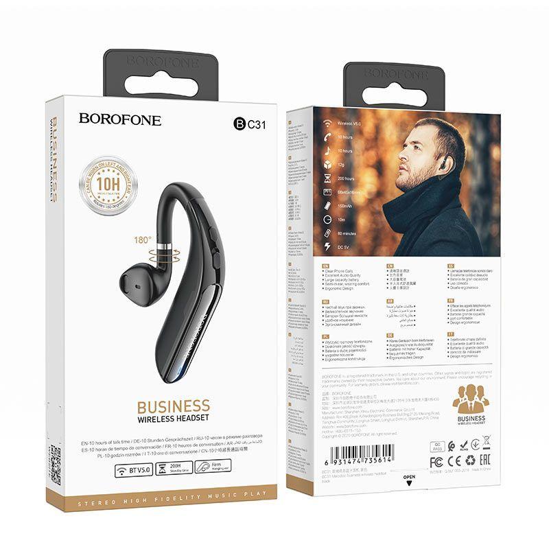Tai Nghe Bluetooth 1 bên Borofone BC31