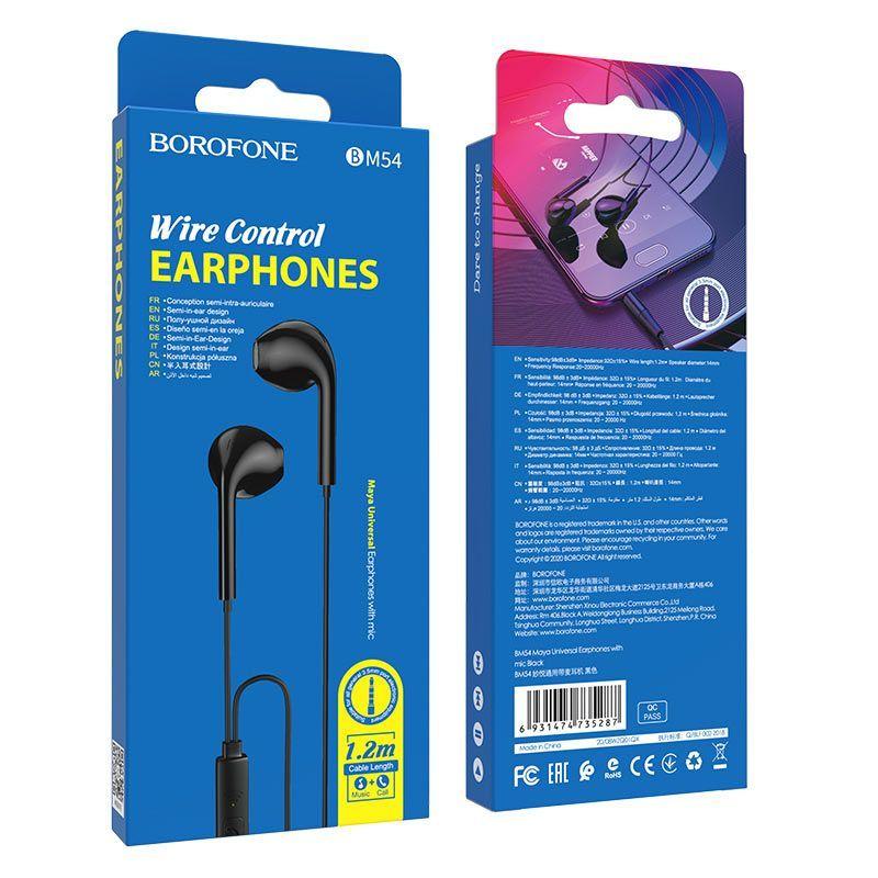 Tai nghe có dây Borofone BM54