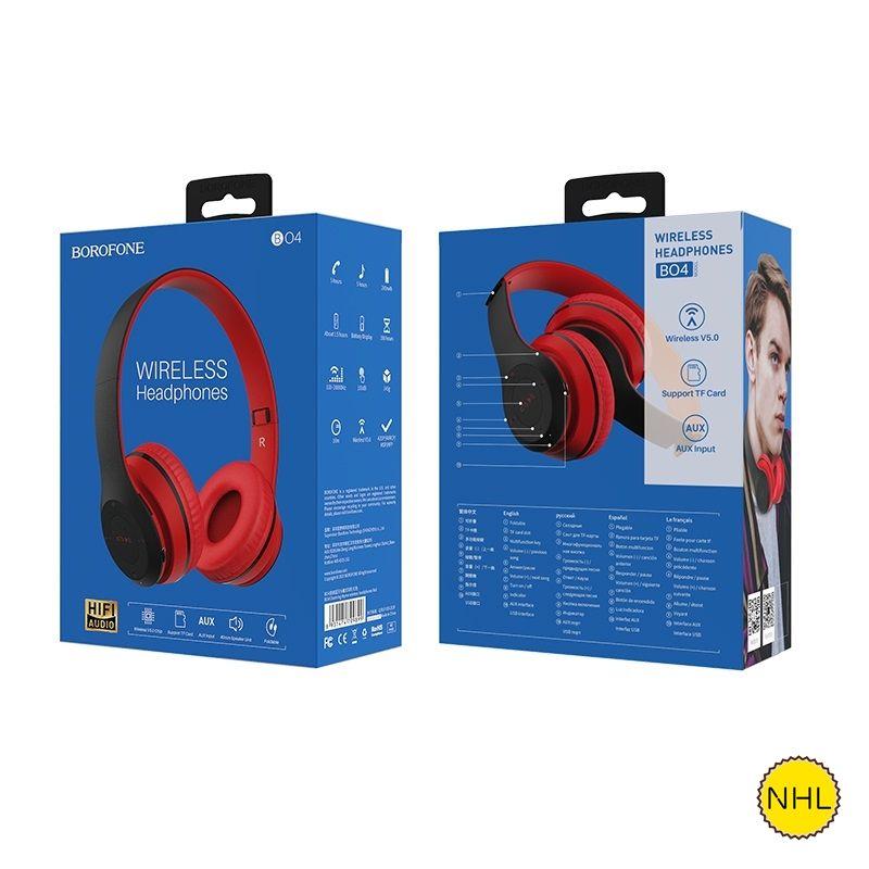 Tai Nghe Chụp Tai Bluetooth Borofone B04