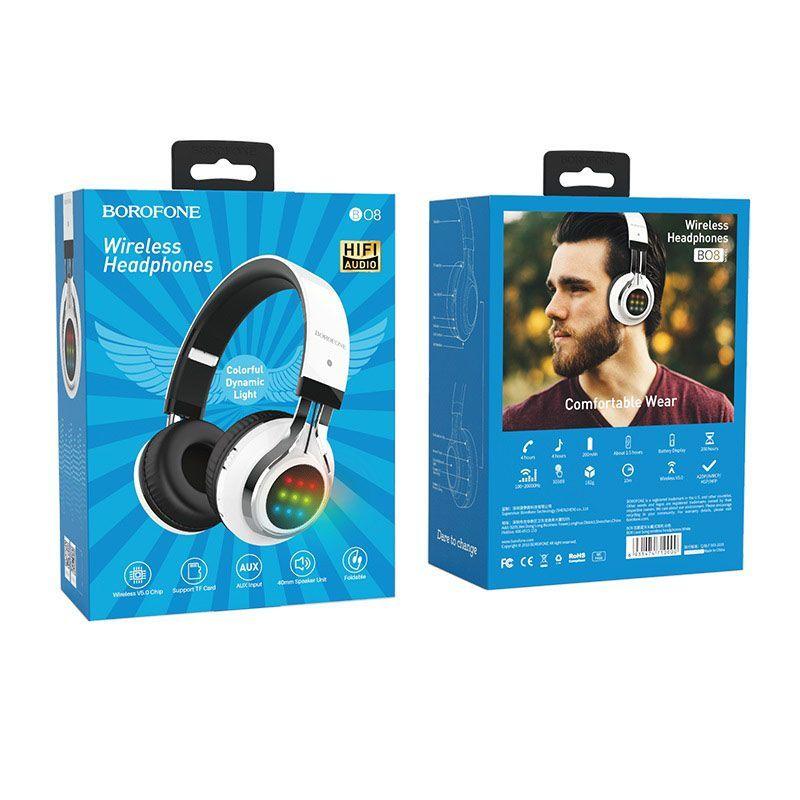 Tai Nghe Chụp Tai Bluetooth Borofone B08