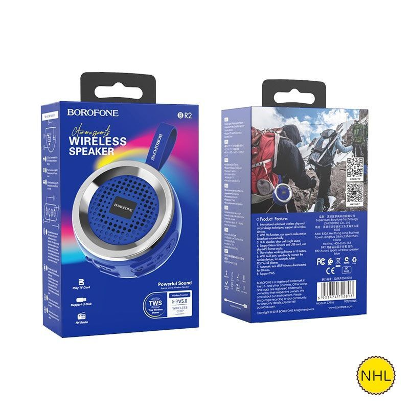 Loa Bluetooth Borofone BR2