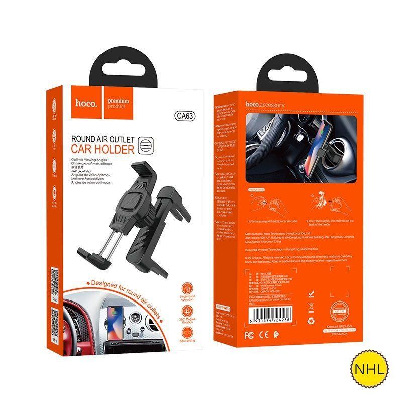 Giá đỡ điện thoại ô tô Hoco CA63