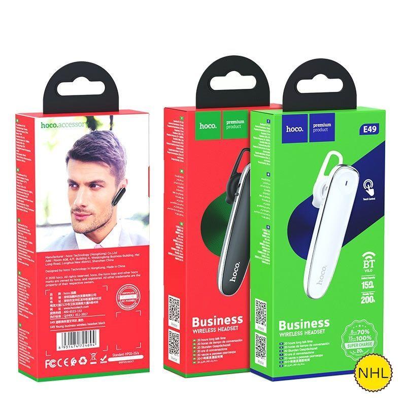 Tai Nghe Bluetooth 1 bên Hoco E49