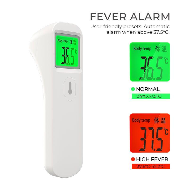 Nhiệt kế đo nhiệt độ hồng ngoại Hoco fd-01md