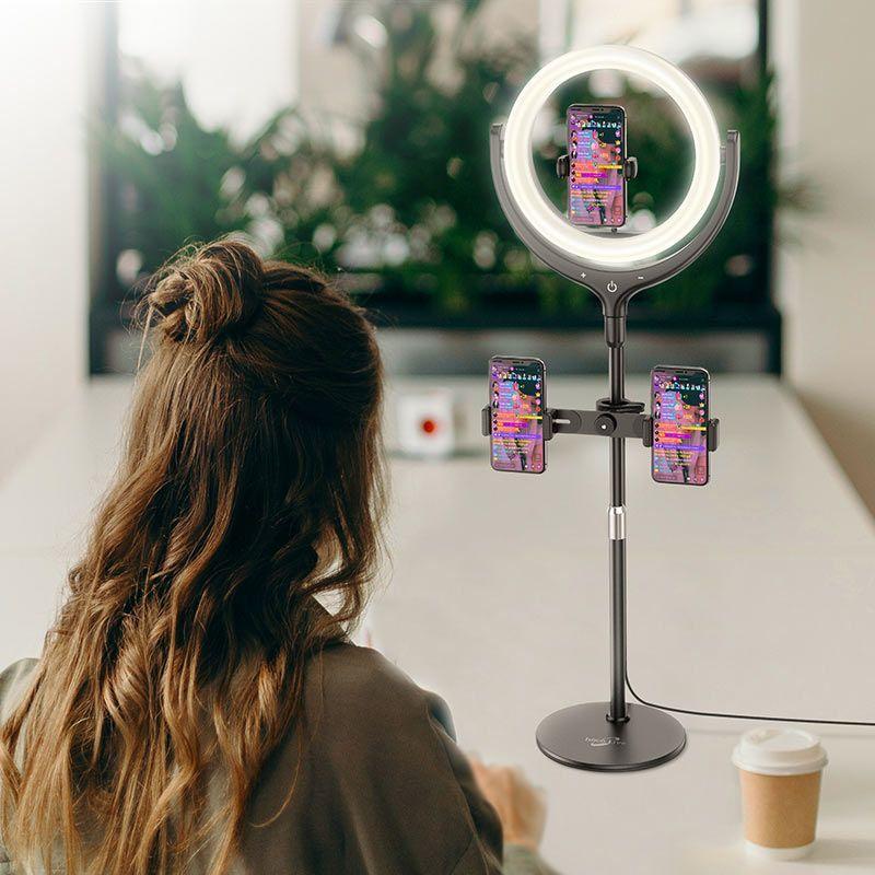 Đèn livestream Hoco lv01