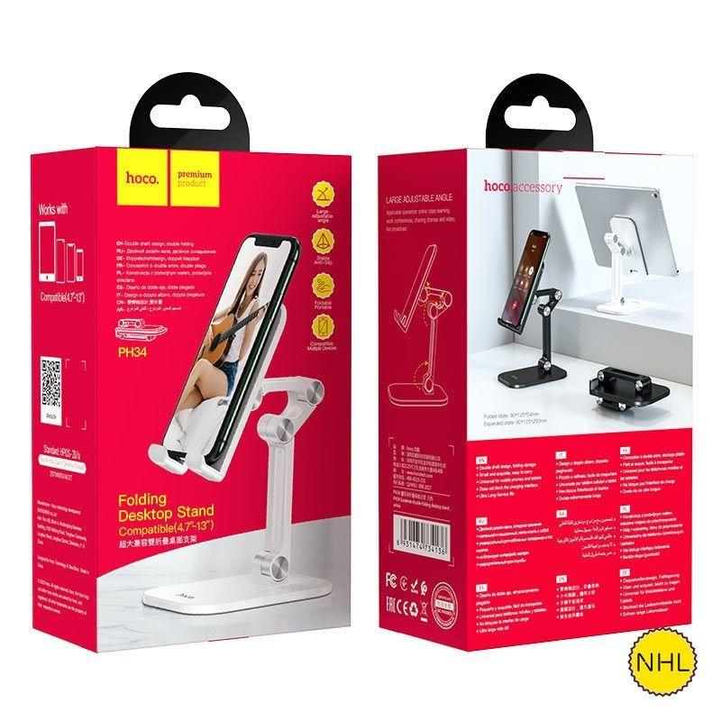 Giá Đỡ Điện Thoại Và Máy Tính Bảng 4,7-13 inch Hoco PH34
