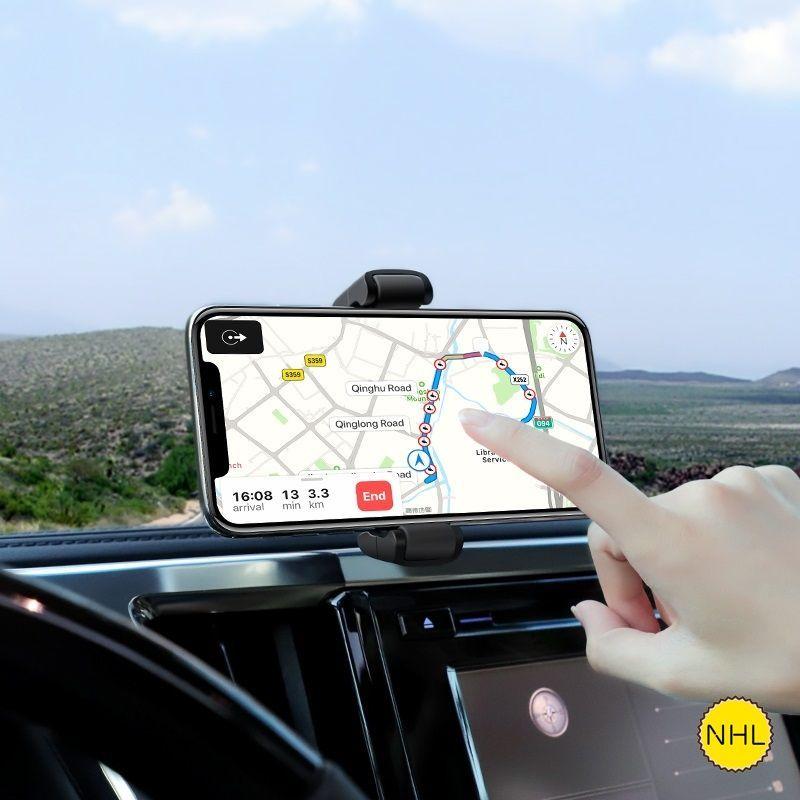 Giá đỡ điện thoại ô tô Hoco S12l