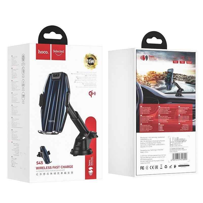 Giá đỡ điện thoại ô tô Hoco S45