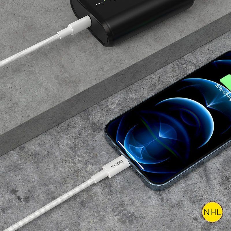 Cáp sạc Typec - Lightning Hoco X56