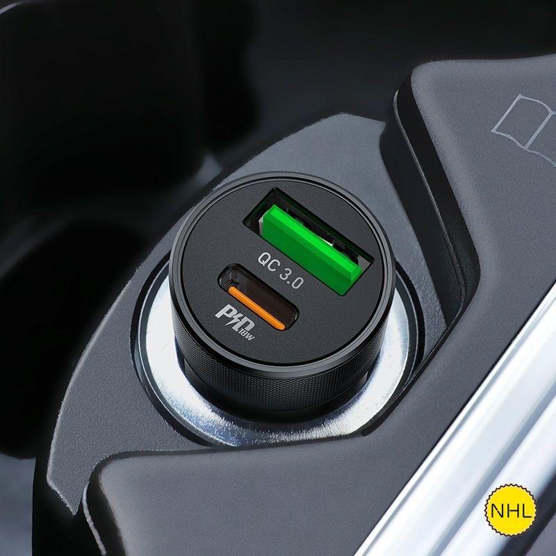 Tẩu sạc ô tô Hoco Z32B