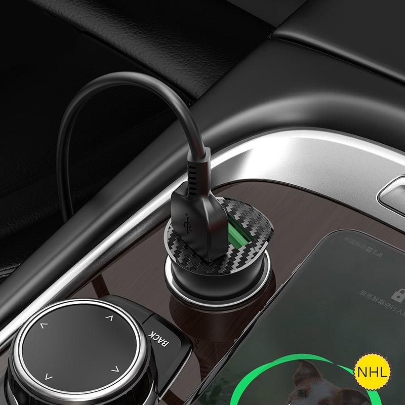 Tẩu sạc ô tô Hoco Z39