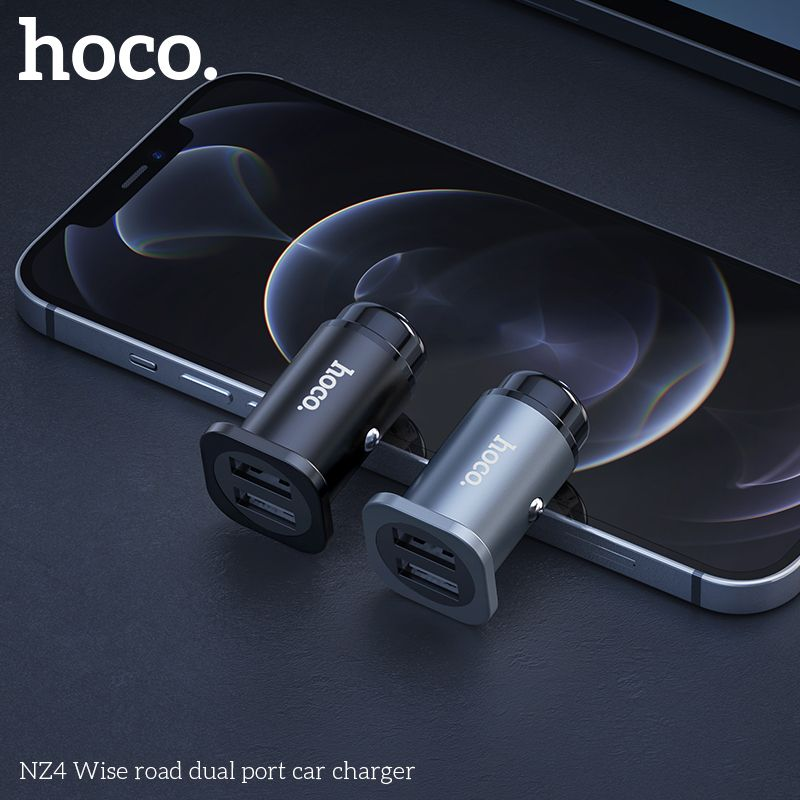 Tẩu sạc ô tô Hoco NZ4