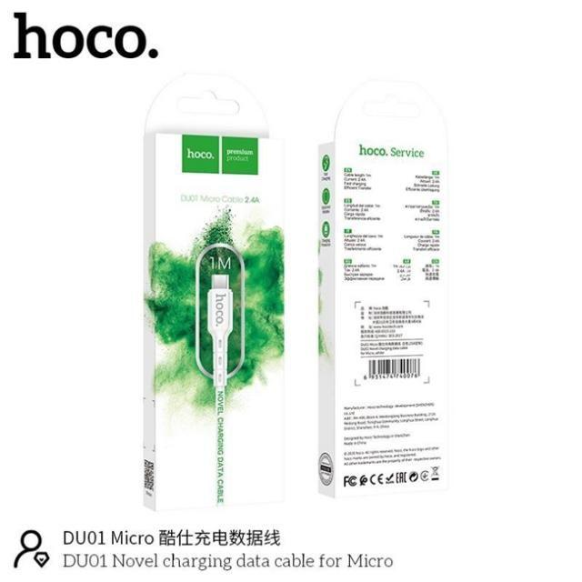 Dây Cáp Sạc Nhanh Micro Hoco DU01