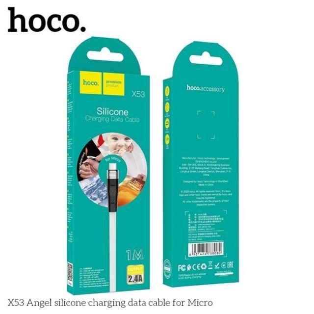 Dây Cáp Sạc Nhanh Micro Hoco X53