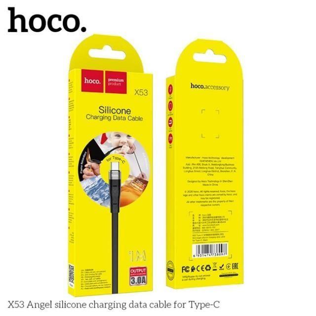 Dây Cáp Sạc Nhanh Typec Hoco X53