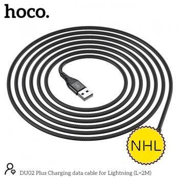 Dây Cáp Sạc Nhanh Lightning Hoco DU02 2m