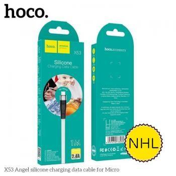 Cáp sạc nhanh Hoco X53 Micro 1m 2.4A