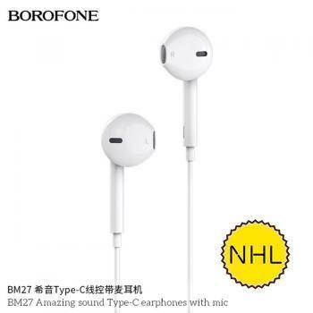 Tai nghe có dây Borofone BM27 Typec