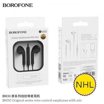 Tai nghe có dây Borofone BM30