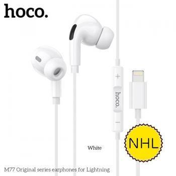 Tai nghe có dây Hoco M77 Lightning