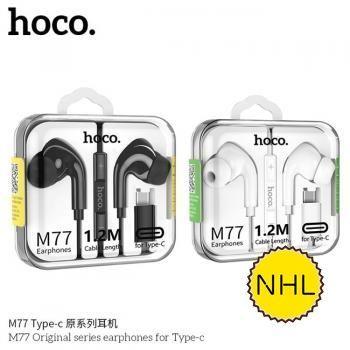 Tai nghe có dây Hoco M77 Typec