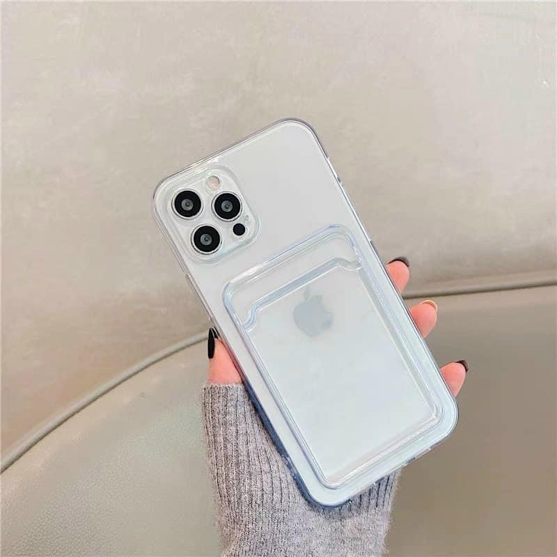 Ốp silicon có khe gắn ảnh thẻ - ốp lưng giá sỉ