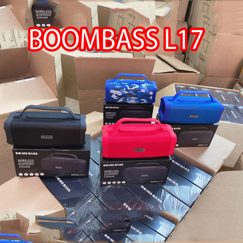 Loa bluetooth boombass L17