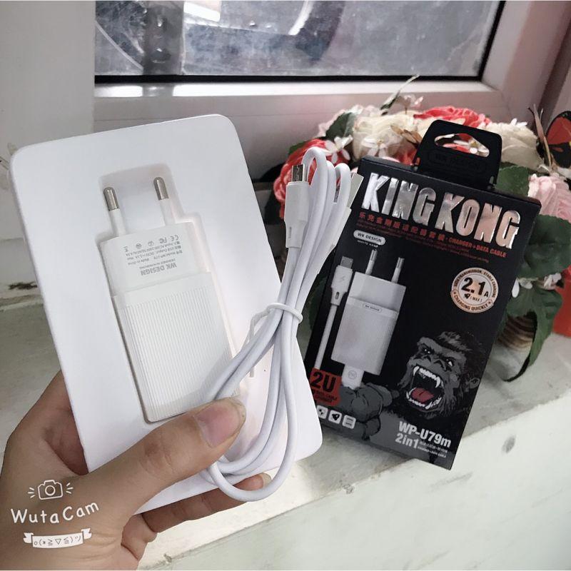 Bộ sạc nhanh KINGKONG U79 samsung giá sỉ
