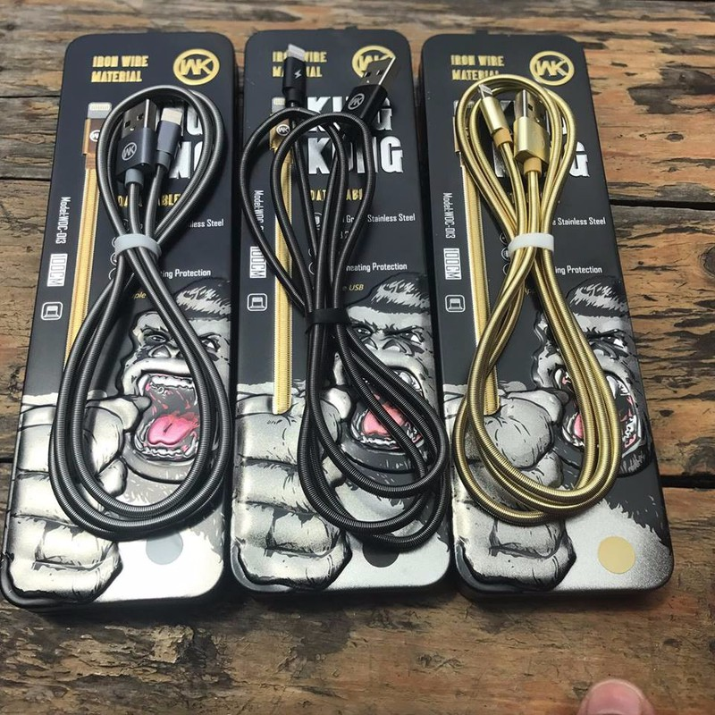Cáp sạc iPhone KingKong WK 013i giá sỉ