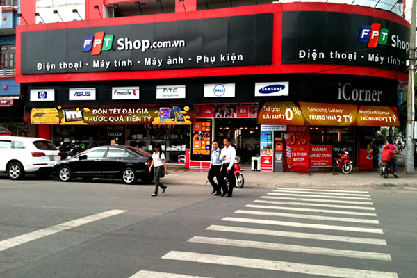 Cửa hàng phụ kiện điện thoại bình thạnh FPT shop