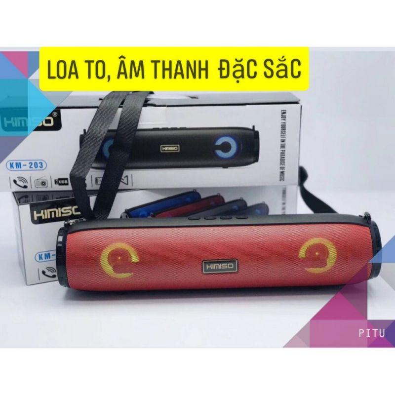 Bán buôn giá sỉ Loa Karaoke Bluetooth dài KM-203