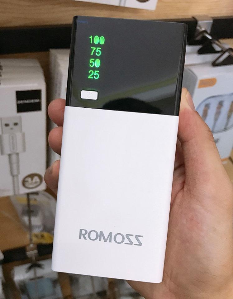 Sạc dự phòng Romoss Smart - 10000mah giá buôn giá sỉ