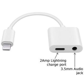 Jack chuyển đổi tai nghe 2 đầu từ lightning sang 3.5mm và lightning giá buôn giá sỉ
