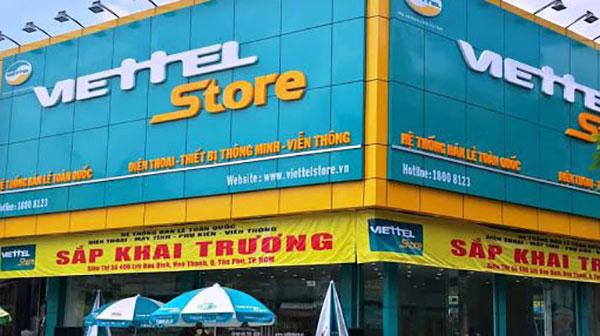 cửa hàng phụ kiện điện thoại Gò Vấp - Viettel Store