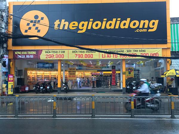Cửa hàng phụ kiện điện thoại thế giới di động bình thạnh