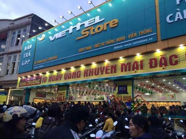 Viettel Store - cửa hàng phụ kiện điện thoại Vũng Tàu